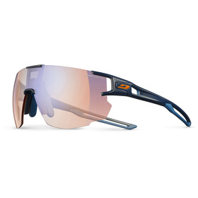 Julbo Aerospeed Zebra Light Red Sunglasses Dark Blue/Dark Blue/Orange-Multilayer Blue